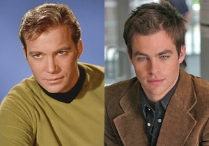 Chris Pine makes a much sexier Kirk, don't you think?